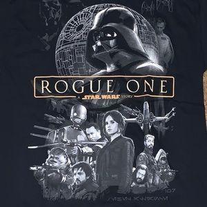 Men's Medium Star Wars Rogue One T-Shirt